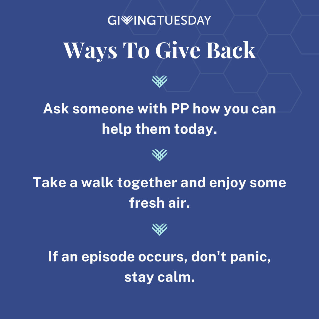 Ways you can help give back to those suffering with Periodic Paralysis